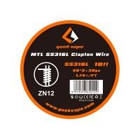 Geek Vape MTL SS316L Fused Clapton Wire