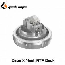 Geek Vape Zeus X mesh RTA deck