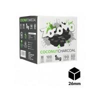 Zocomo φυσικό κάρβουνο για ναργιλέ 26mm 1kg