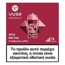 Vuse ePen Pods Wild Berries 18mg/ml