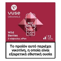 Vuse ePen Pods Wild Berries 12mg/ml.
