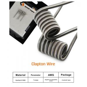 Geek Vape Clapton Wire 2 Coils & 1PCS Cotton